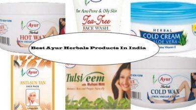 10 Bedste Ayur naturmedicin produkter tilgængelige i Indien