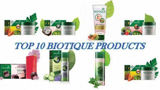 10 Bedste biotique produkter tilgængelige i Indien