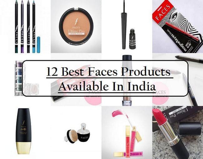 12 Bedste ansigter kosmetiske produkter i Indien