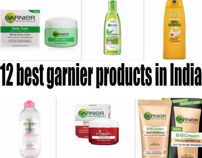 12 Bedste Garnier produkter i Indien: hud, hår