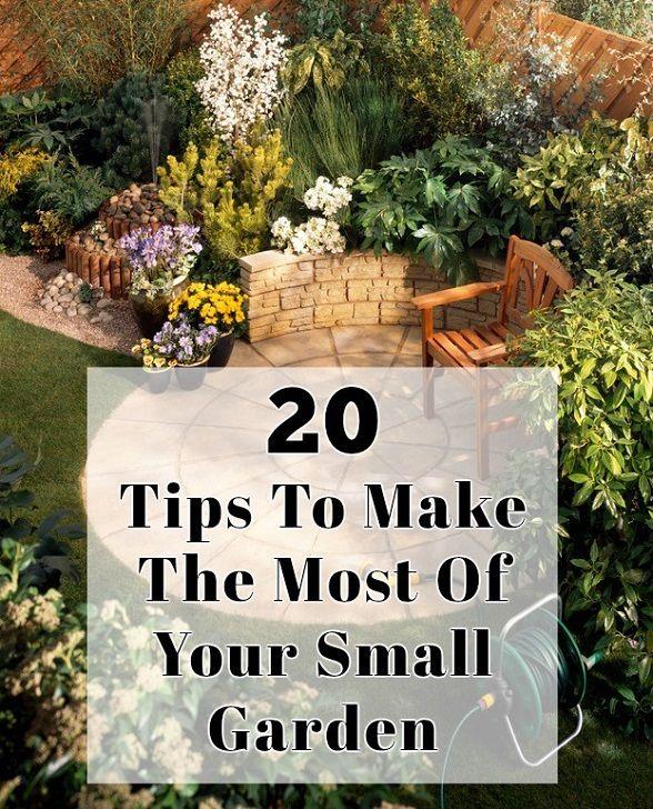 20 Tips til at gøre mest muligt ud af din lille have