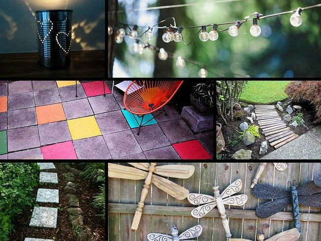 32 Genius ideer til at forskønne din have på et budget