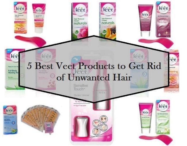 5 Bedste Veet produkter tilgængelige i Indien