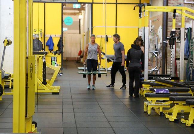 5. Element Wellness Modified Strongman Workout