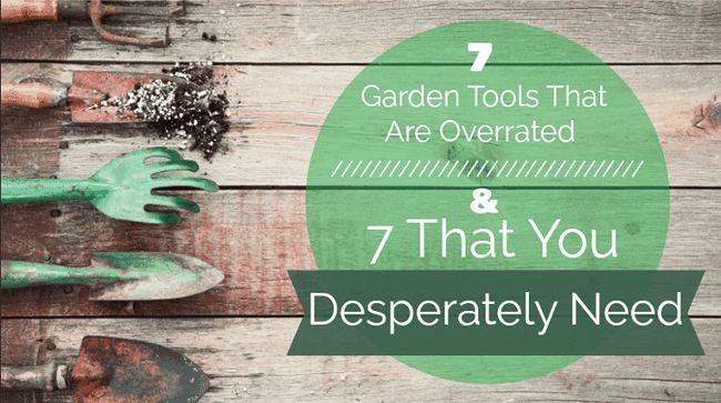 7 Have værktøjer, der er overrated & 7, som du desperat brug