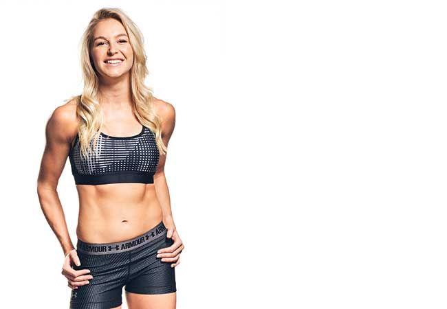 En dag i livet af vinteren Olympian Danielle Scott