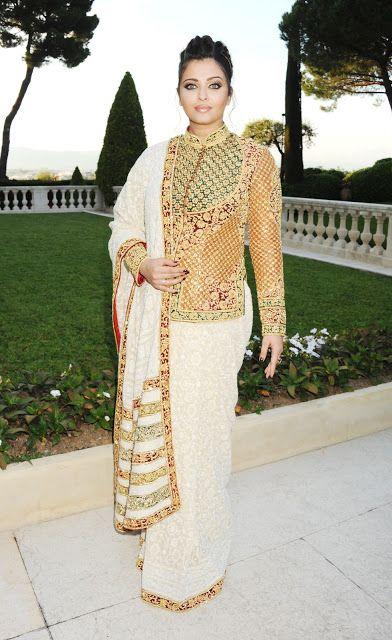 Aishwarya rai Bachchan i Cannes 2012: kjole, makeup opdeling