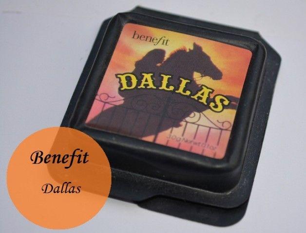 Fordel kosmetik Dallas blush bronzer farveprøver og revision