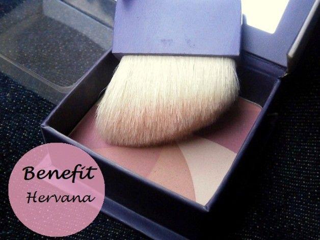Fordel hervana boxed ansigt pulver blush: farveprøver og revision