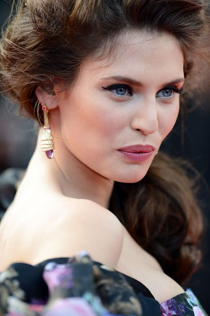 Bianca balti cannes 2012: kjole, makeup, backstage video