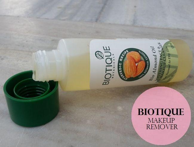 Biotique bio mandelolie beroligende ansigt & øjenmakeup sæbe: gennemgang, demo, pris