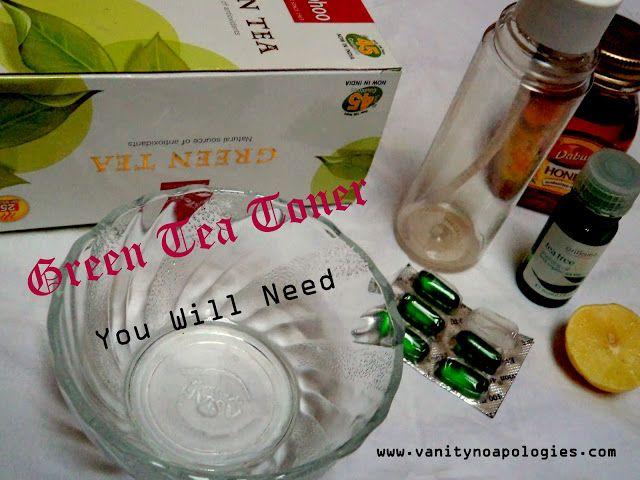 Gør det selv: grøn te toner (trin for trin billede tutorial)