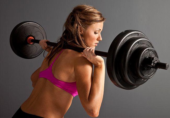 Sådan at træne som en fitness model