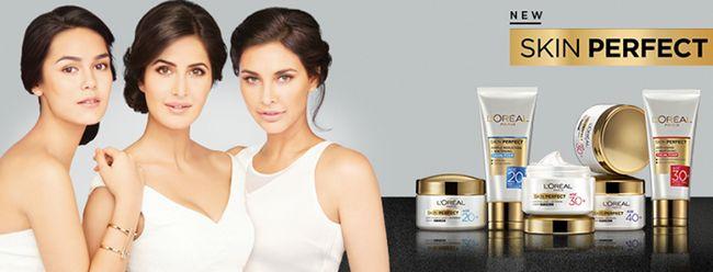 L`Oreal hud perfekt ekspert hudpleje interval for alder 20+, 30+, 40+: pris, produkter
