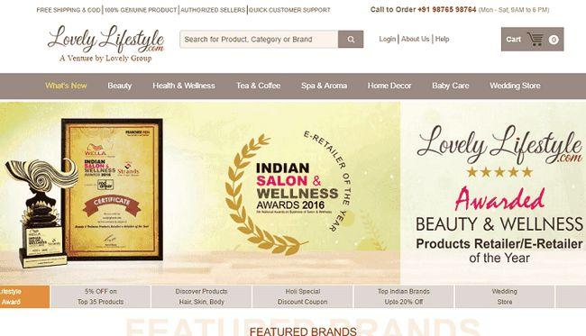 Dejlig livsstil: shop skønhed & wellness-produkter i Indien