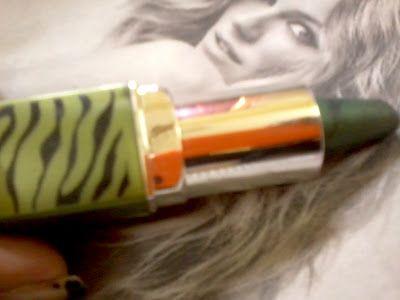 Oriflame skønhed kajal øje liner- grønne jungle gennemgang og farveprøver