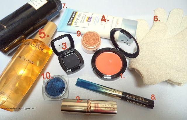 De mest brugte skønhedsprodukter? - april og maj 2012