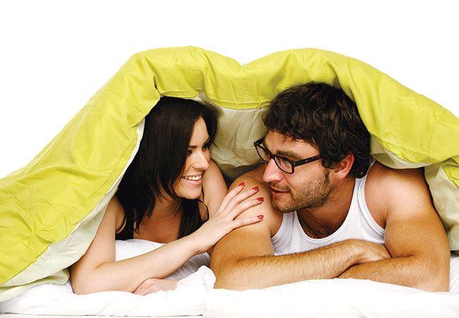 Hvad betyder din sovende stil sige om dit forhold?