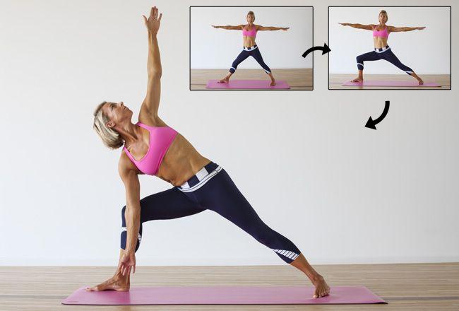 Yoga er knyttet til fedttab
